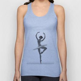 Ballerina Unisex Tank Top