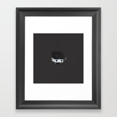 Dicey Little Guy Framed Art Print