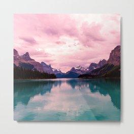 Peaceful Lake Metal Print