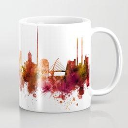 Dublin Ireland Skyline Coffee Mug