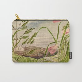 """""""When Spring Begins"""" by Eleanor Vere Boyle Carry-All Pouch"""