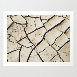 The absence of water Art Print