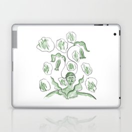 Thinker of Tender Thoughts Laptop & iPad Skin