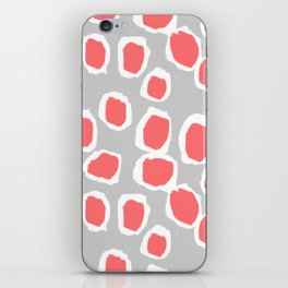 Zola - Abstract painted dots, painterly, bold pattern, surface pattern, print pattern design iPhone Skin