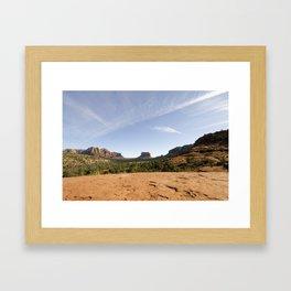 Vista   Sedona, AZ Framed Art Print