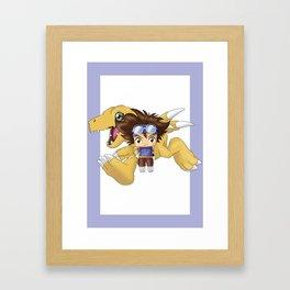 Chibi Tai Framed Art Print
