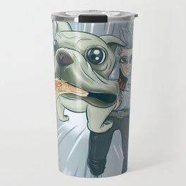 Quicksilver and Dog Travel Mug