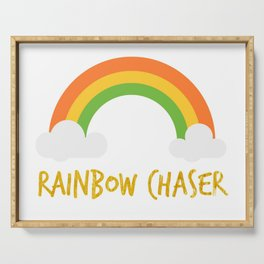 Rainbow Chaser Serving Tray