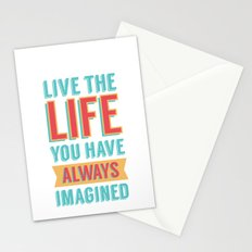 LIVE LIFE Stationery Cards