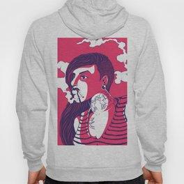 Bad Striped Girl 01 Hoody