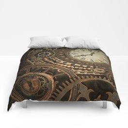 Steampunk Clockwork Comforters