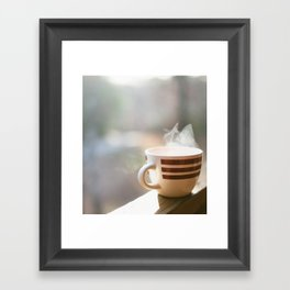 Slow Mornings Framed Art Print