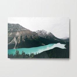 Peyto Lake Metal Print