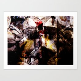 The Woman Part III  Art Print