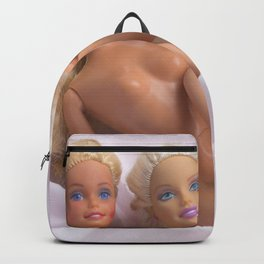 Girls in Pink Backpack