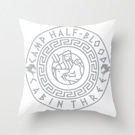 Camp Half-Blood chronicles Throw Pillow