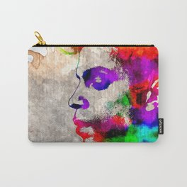 Prince Watercolor Carry-All Pouch