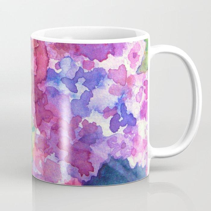 Bold Color Lilacs Coffee Mug