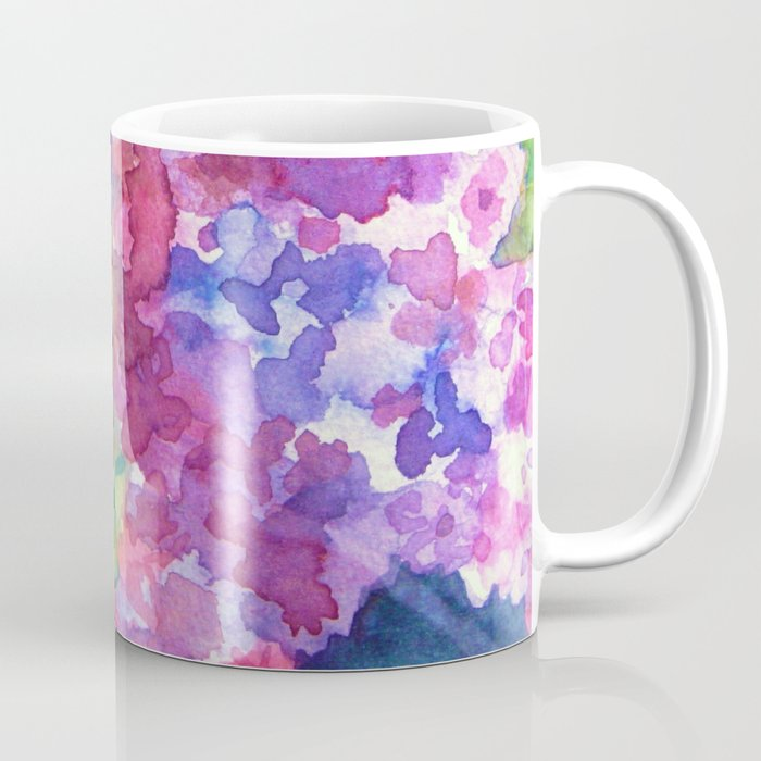 Bold Color Lilacs Coffee Mug
