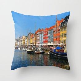 """New Port """"Copenhagen"""" Throw Pillow"""