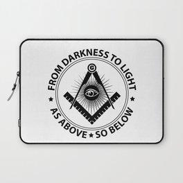 Freemasonry emblem Laptop Sleeve