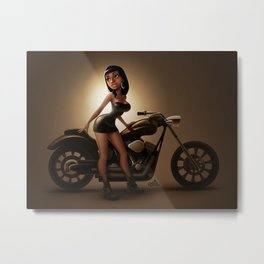 Ready for a ride ?... Metal Print