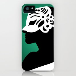 The Mask - green iPhone Case
