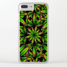 Grow Some Weed Clear iPhone Case