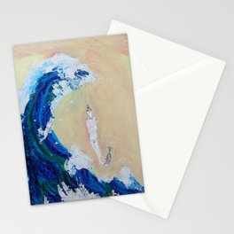 The Wave Got Me Stationery Cards