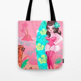 Hawaii Burlesque Festival Beach Bunny Tote Bag