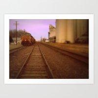 kansas Art Prints featuring Kansas by Travis Davis