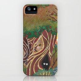 sylvan forest iPhone Case