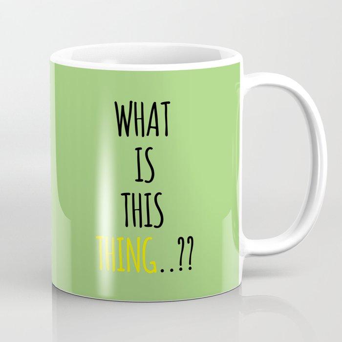 Suspicious Corgi Coffee Mug