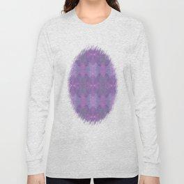 Lavender Pattern Long Sleeve T-shirt