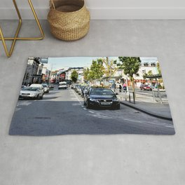 Taxi Stand, Eyre Square, Galway Rug