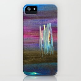 """Nightscape #1"" Painting iPhone Case"