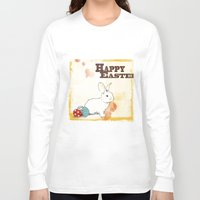 easter Long Sleeve T-shirts featuring Easter by Michelle Krasny