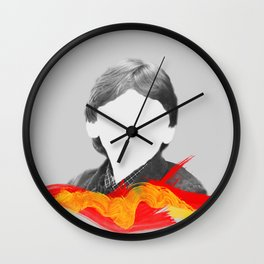 I'm Ron by the way, Ron Weasley. Wall Clock