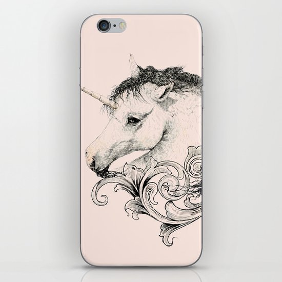 Classic Unicorn iPhone & iPod Skin