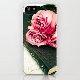 Rose Book iPhone Case