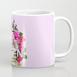 Queen Floral Bouquet Coffee Mug