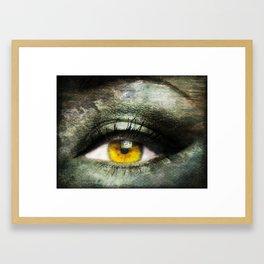 Window to the Soul Framed Art Print