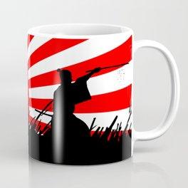 Samurai Sword Fight Victory Coffee Mug