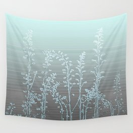 WILDFLOWERS - STRIPED OMBRE Wall Tapestry
