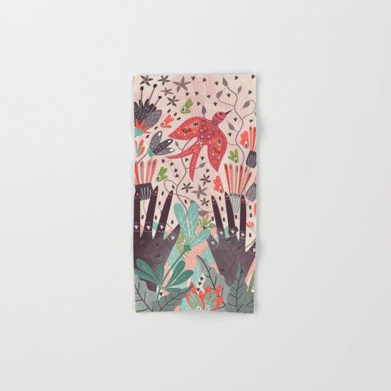 Spring Bird Hand & Bath Towel