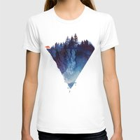dark T-shirts featuring Near to the edge by Robert Farkas
