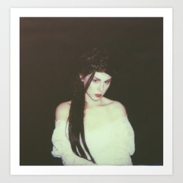 Casstronaut - Impossible Project Polaroid - 2  Art Print