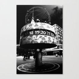 Alexanderplatz art Canvas Print
