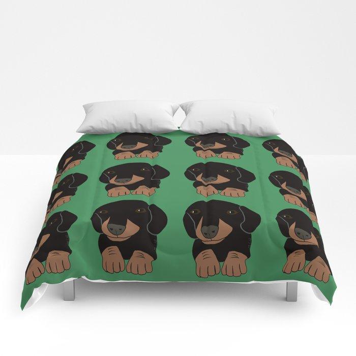 Dachshund Puppies Galore! Comforters