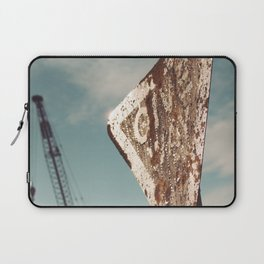 i give way to cranes, do you?.. Laptop Sleeve